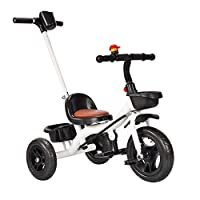 NBWE Kids bikes Kids Tricycle parent handle 3 Wheels Boys Girls Kids Trike Toddler Tricycles 15 months and above