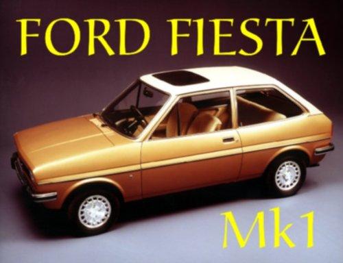 1982 EXTRA GRANDE FORD FIESTA MK1 EN METAL DE ESTILO VINTAGE PUBLICIDAD SIGNO DE PARED RETRO ART