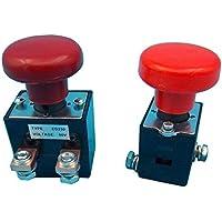 ED250B-1 250A ED125B-1 125A Interruptor de Parada de Emergencia Interruptores de Botón Pulsador de Cabeza de Seta Roja Reemplazo Para Carretillas Elevadoras Eléctrica Automóvil