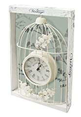 Idea Regalo - kingfisher Garden Bird Clock