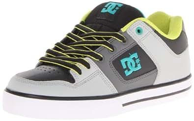DC Shoes Pure M Shoe Ggm, Chaussures de skateboard homme - Gris (L Grey/Mantis), 40 EU