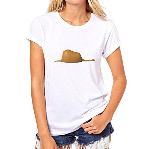 Detailes Figure Little Prince Damen T-Shirt Weiß