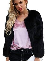Amazon.es: Chaquetas Pelo - Chaquetas / Ropa de abrigo: Ropa