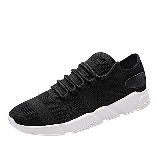 Electric Sneakers Outdoor Mode,Chaussures de Course Running Sport Trail entraînement Homme Femme Basket Sneakers Running Sports Gym Maille Shoes Lace-U