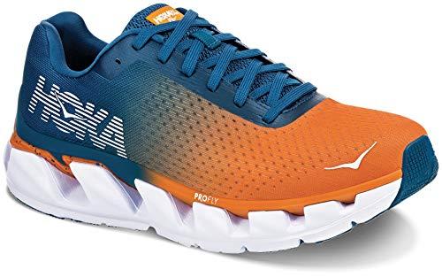 Hoka ELEVON, Zapatillas de Running por Hombre, (CorsairBlue/BrightMarigold - CBBM), 42 2/3...