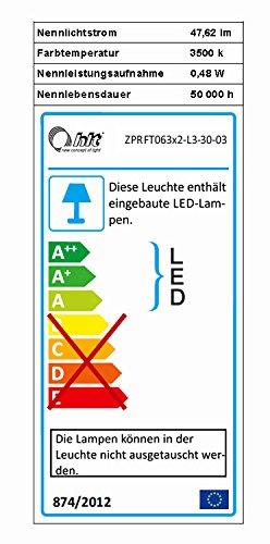 Wohnwand Anbauwand 6432 eiche country / eiche maggia inkl. LED Beleuchtung - 3