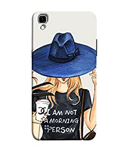 FUSON Designer Back Case Cover for LG X Power :: LG X Power K220DS K220 (Retro Fashion.Summer Hat With Large Brim Coffee Cup)