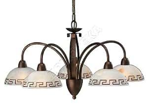 Luminaire Philips Massive Intérieur - Lustre 5 lampes - MA 363764310