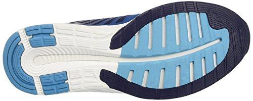 Asics Herren fuzeX Sneaker, Blau, UK Blau (Indigo Blue/indigo Blue/thunder Blue)