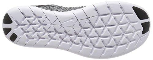 44 Nike Herren Weiß RN Black Flyknit Free White Laufschuhe EU wwOHvqPSxX