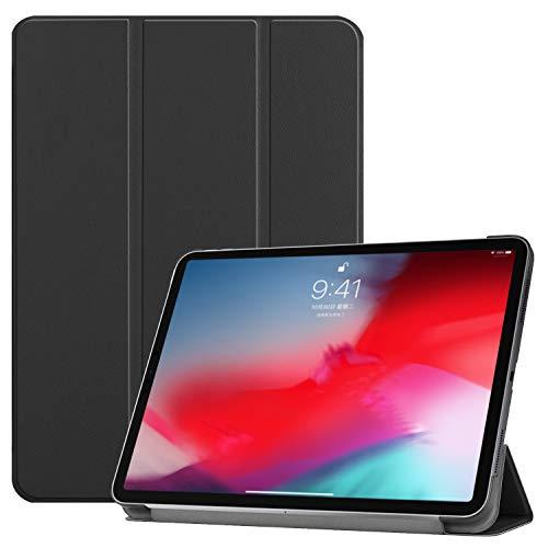 b11af173d4 ZRICKIE pour Apple iPad Pro 11 Étui Housse Case, Haute Qualité PU Cuir  Stand Case