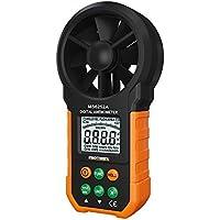 Anémomètre numérique,AGOKA compteur de vitesse de vent, compteur de volume d'air Indicateur de vent