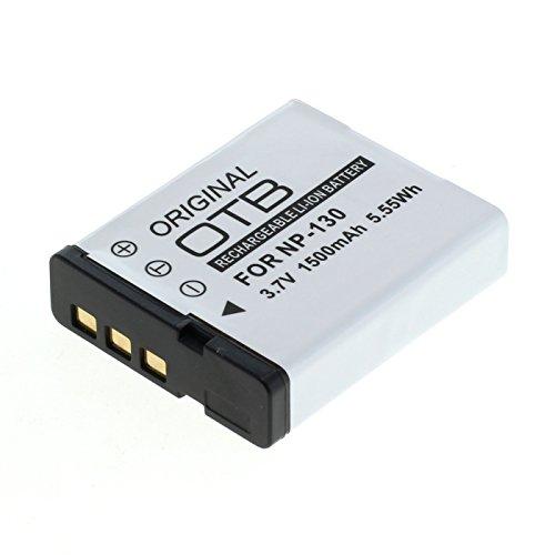 OTB Akku für Casio NP-130 Li-Ion Schwarz