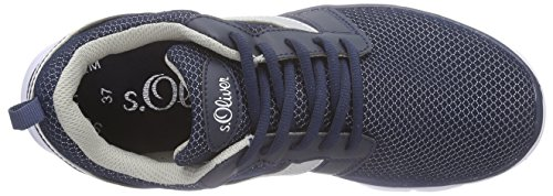 s.Oliver43201 - Scarpe da Ginnastica Basse Bambina Blu (Blu (Navy 805))