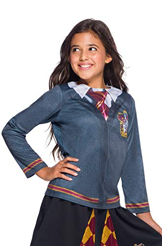 Hogwarts Kostüm Schuluniform - Harry Potter House Gryffindor Child Costume Top - Small