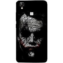 ColourCraft Dangerous Joker Design Back Case Cover for VIVO V3 MAX