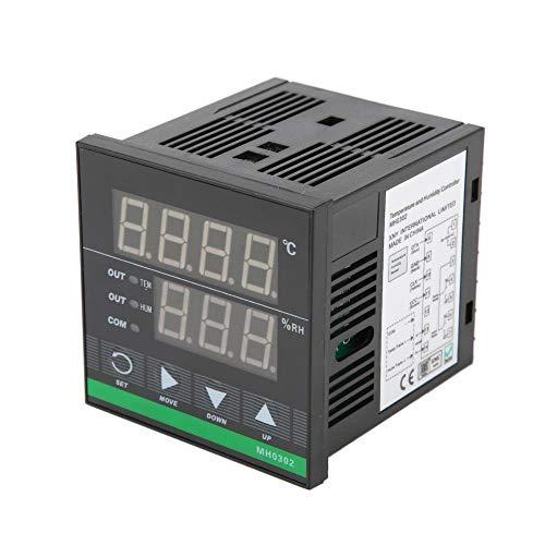 Temperatur- und Luftfeuchtigkeitsregler mit Pultmontage Digitaler Temperatur-Feuchtesensor 72 × 72 mm