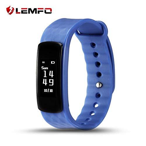 Lynn025Keats LEMFO I3 HR Smart-Armband 0,96-Zoll-Bildschirm Herzfrequenzmesser Fitness Tracker Anruf-ID Erinnern Adult Smart-Gesundheits-Armband