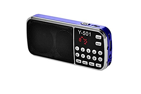 eJiasu MP3 Music Audio Player Digital FM Radio Speaker