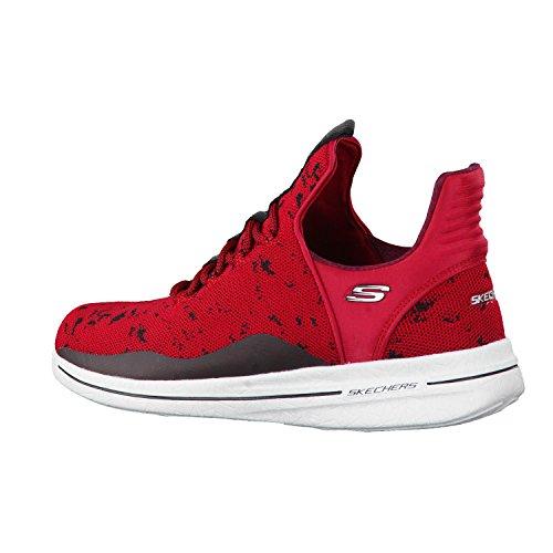 SKECHERS NEW AVENUES 12656/RDBK adulte (homme ou femme) Chaussures de sport Rouge