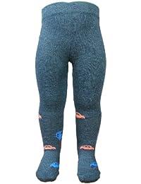 BOMIO | gemusterte Baby-Strumpfhose | Baumwollstrumpfhose mit kindgerechten Motiven | elastische Kinder-Strumpfhosen | geprüft nach EN 71