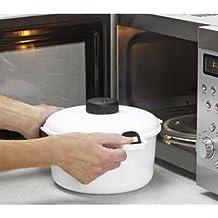 Olla Micro Master, presión de vapor, 2,85L, microondas