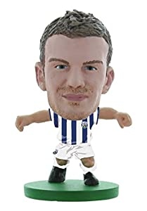 Soccerstarz SOC757 Classic West Brom Chris Brunt - Kit de hogar