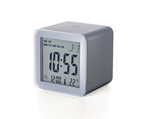 LEXON lr103px6Cubo Despertador LCD Sensor ABS Métallisé