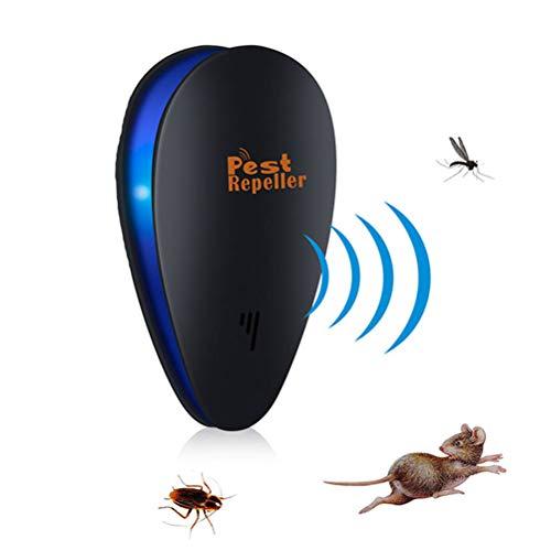 XGLL Ultraschall Schädlingsbekämpfer, Elektronisches Plug-In für die Schädlingsbekämpfung im Innenbereich für Käfer und Nagetier Mäuse Insekten Ameise Mückenspinnen Plötze,3packs -
