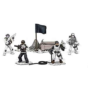 Mega Bloks Call of Duty Collector Construction Set of 4 – Arctic Troopers (Dpb53)