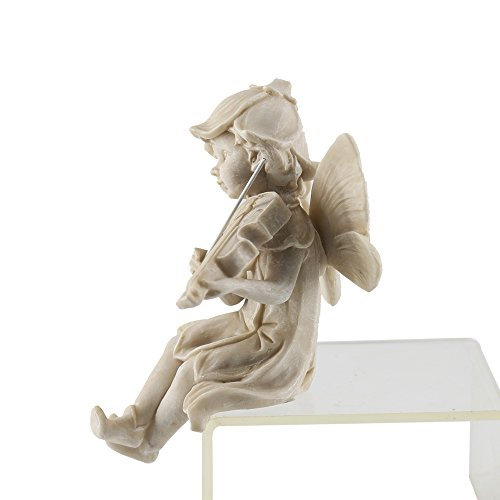 JYSPT Engel Deko Engel Ornament Fee Figur Garten Skulptur Dekoration Kreative Harz Handwerk Statue für Indoor Outdoor Garten Hof Schreibtisch Dekoration (Feenhaftes Spielen)
