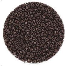 Creafirm - 15 grammes de Perles Miyuki Rocailles 11/0 Marron Chocolat Opaque 409