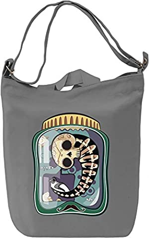 Skeleton in a jar Leinwand Tagestasche Canvas Day Bag  100% Premium Cotton Canvas  DTG Printing 