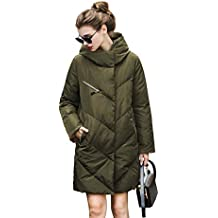 you.u Diseño Abrigo de Moda Impermeable para Mujeres