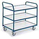 Rollcart Tischwagen mit 3 Etagen, 08-7436ESD