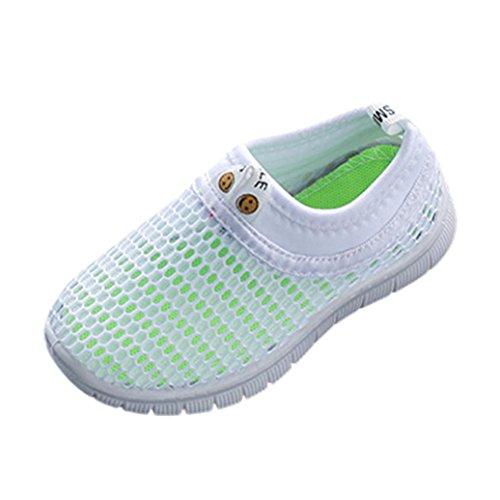 OYSOHE Kinder Schuhe scherzt Baby Mädchen Schuhe Süßigkeit Farben Gewebe Maschen zufällige Sport - Schwarze 9t Schuhe