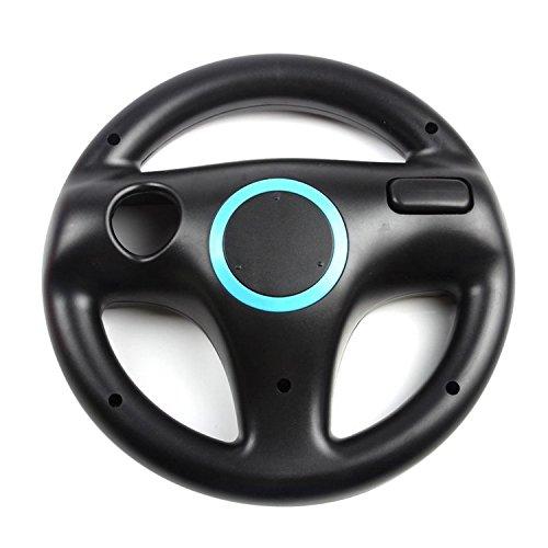 Vococal-Volante para Juegos de carreras en Nintendo Wii,Color Negro
