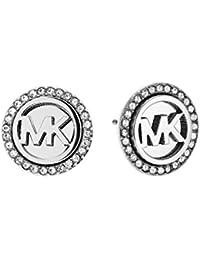 Michael Kors Heritage Women's Earrings Stainless Steel Silver MKJ4516040
