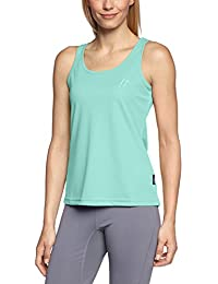 MAIER SPORTS Damen Funktionsshirt Petra aus 100% PES in 9 Größen und vielen Farben, Shirt/ Tanktop/ Funktions-Top, ärmellos, schnelltrocknend, atmungsaktiv und pflegeleicht