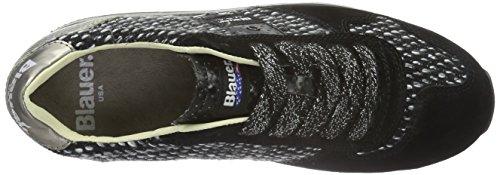 Blauer USA Wofasrun, Baskets Basses Femme Noir - Noir
