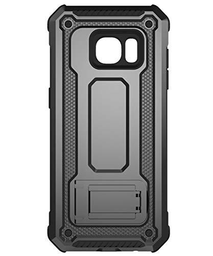 KUAWEI Samsung Galaxy S7 Hülle Rüstung Cover Dual Layer Hybrid Rüstung Series Handyhülle mit Ständer Funktion und Auto Halterung Funktion für Samsung Galaxy S7 5.1