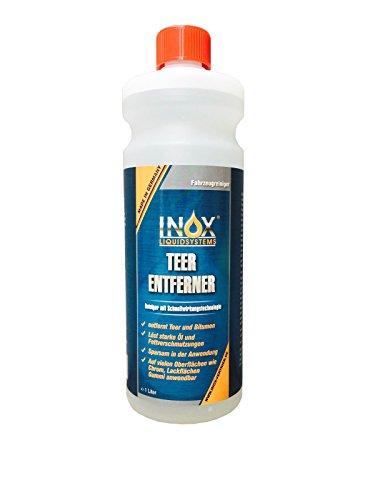 INOX Teerentferner, 1L - Klebstoffentferner für Auto, Wohnmobil und Campingwagen