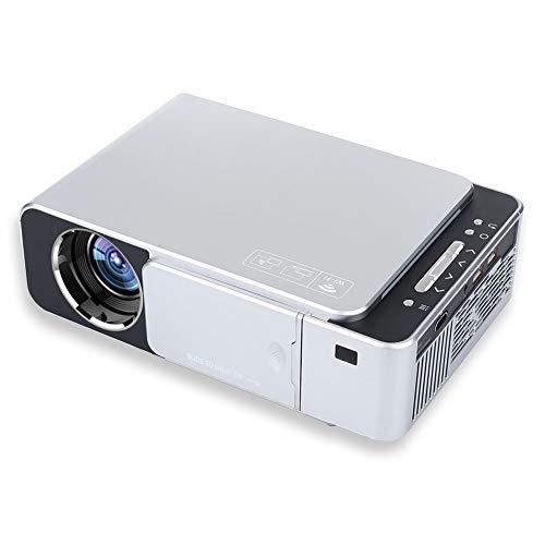 Haihuic Mini-WiFi-Projektor 2000 Lumen LED tragbar Full HD Multimedia Heimkino-Videoprojektor 1080P mit HDMI Unterstützung für TV, PC, Smartphone, PS4 -