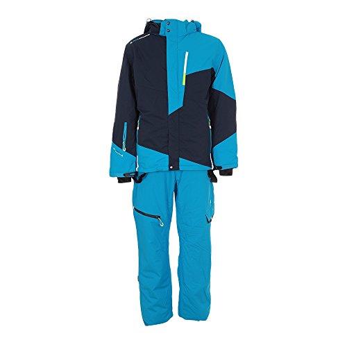 Peak Mountain - Skianzug herren CORO - blau/marineblau - XXL
