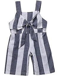 SMARTLADY 2-6 años Niña Monos Pantalones Ropa