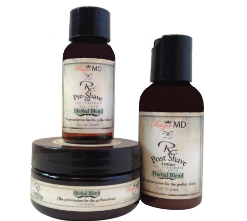 Razor MD Herbal Blend kit de voyage Trio