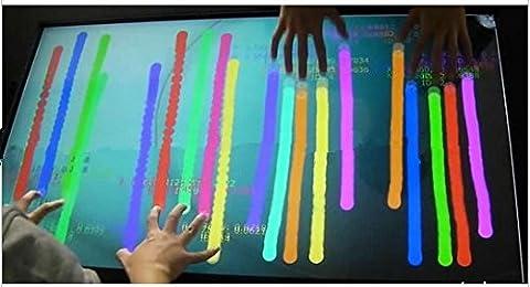 Gowe 101,6cm infrarouge Touch Cadre pour signalétique numérique/interactif points multi touch overlay-12Touch, stable et sans Drift