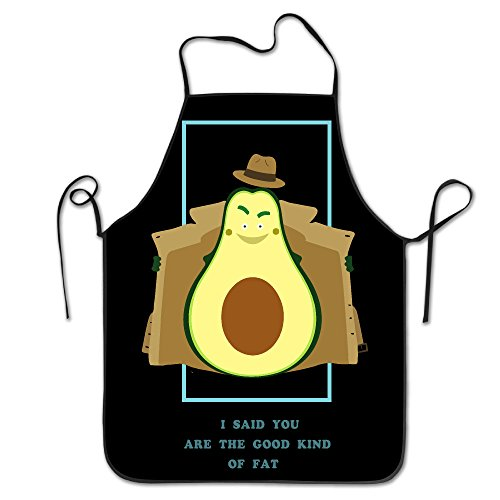 FRICSTAR I Said You Are The Good Kind Of Fat Cool Bib Apron For Women Men Adults Waterproof Natural