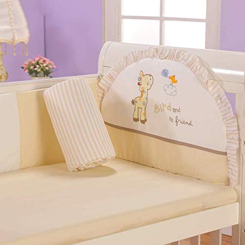 Doublure respirante pour lit de bébé, coussins protecteurs pour lit de bébé, rembourrage pour rail de lit de bébé Bumper Guard Safe