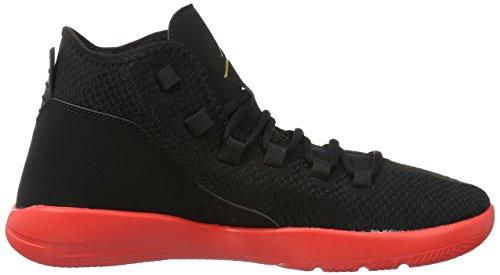Nike Mens Jordan Rivelare Scarpe Da Basket, Bianco Nero (nero / Oro Moneta Infrarosso Mtlc 23)